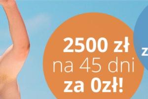 Pierwsza pożyczka za darmo w LendON.pl. 2500zł na 45 dni za 0zł.